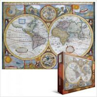 EG60002006 	 Eurographics Puzzle 1000 Pieces Jigsaw - Antique World Map