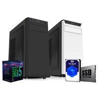 Pc desktop i5 8500 4.10GHZ,Ram 8 Gb Ddr4, Ssd 240Gb, Hdd 1 TB,CD-DVD,Windows 10