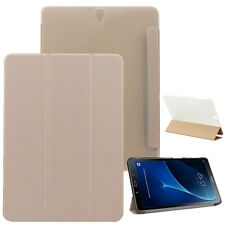 """CUSTODIA SMART COVER Integrale SUPPORTO per Samsung Galaxy TAB S3 9.7"""" T820 Oro"""
