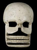 Maschera Citipati Testata Da Morto Legno Parati - Himalaya-Cerimoniale Sciamano