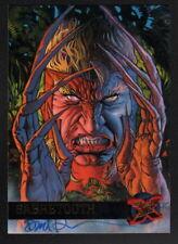 Dave DeVries SIGNED X-Men Art Trading Card ~ Sabretooth 1994 Fleer Ultra