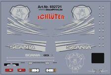 Decals für Truckdekor für Scania R (silber) (6,8 x 4,6 cm)