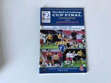 More details for livingston v airdrie. bells challenge cup final. november 2000