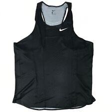 New Nike Digital Race Day Track Singlet Elite Running Men's Large Black 835880