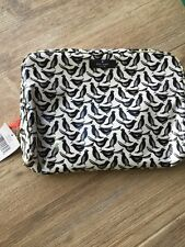 Kate Spade Daycation Large Henrietta Blackbirds  Cosmetic Case - NWt Rare