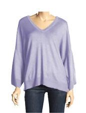 Michael Kors Oversized Kimono Raglan Lavender Sweater Tunic M