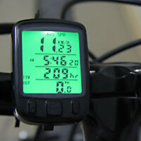 Digital Speedometer Odometer LCD Waterproof Bike Bicycle Cycling Computer Speed
