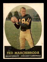 1958 Topps #44 Ted Marchibroda  EX X1468342
