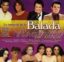 Lo Esencial De La Balada Romantica Jorge Reyes Zamorano CD NEW factory sealed