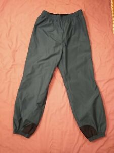 Columbia Mens Size Tall XL Green/Black Snowboard Ski Snow Pants EUC