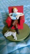 Figurine TINTIN at home Moulinsart