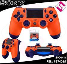 Remote PS4 Dualshock Orange Original PLAYSTATION 4 Sony Wireless Wifi Nocable