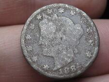 1884 Liberty Head V Nickel 5 Cent Piece