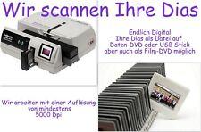 1000 Dias digitalisieren / scannen auf DVD / mit 5000 dpi  / Dia digital