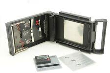 Mamiya rb67 Polaroid Film Back und ein Filmtimer von Polaroid
