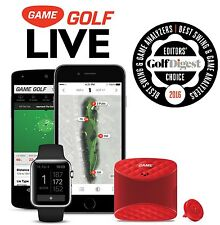 NEW 2017 GAME GOLF LIVE Digital GPS Tracker -Records Shots Data Instantly Golfer
