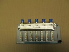 1 NEW SIEMENS TM4V4 COMBO HUB 4 LINES X 6 PHONES, 1 INPUT X 4 TV'S 5MHz-1000MHz