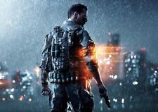 BATTLEFIELD 4 XBOX ONE PS4 PS3 GAME PC (3) A3 ART PRINT POSTER YF5062