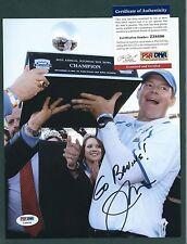 "Jim Mora signed 8""x10"" photograph PSA Authenticated UCLA Head Coach Football"