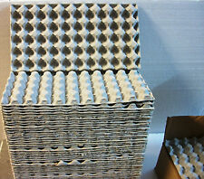 "50 QUAIL EGG Shipping Cartons Trays 13"" X 7"" Paper Mache Holder Holds 50 Eggs Ea"