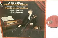 PAUL TORTELIER*CHOPIN/RACHMANINOV*CELLO sonatas*EMI/PATHE(french HMV)*NM