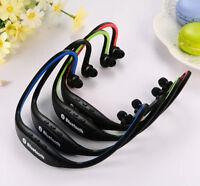 Sport Wireless Bluetooth Stereo Headphone Headset Earphone for Samsung iPhone //