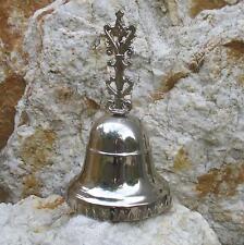 Handglocke Tischglocke Silber Glöckchen Weihnachtsglocke Empfangsglocke Glocke