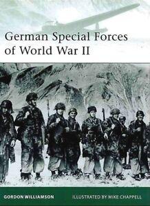 Osprey German Special Forces of World War II ( 2. Weltkrieg Wehrmacht )