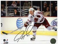Jeremy Roenick Coyotes Autographed 8x10 White Jersey Photograph - Fanatics