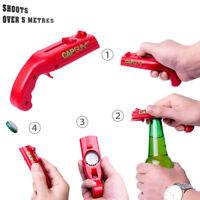 Gun Shape Beer Drink Bottle Opening Opener Shoot Bar Club Home Kitchen Tools