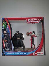 BATMAN VS HARLEY QUINN SCHLEICH PVC FIGURINE 2 PACK BNIB
