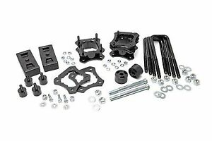 """Rough Country 3"""" Leveling Lift Kit (fits) 2007-2020 Toyota Tundra 2WD Suspension"""