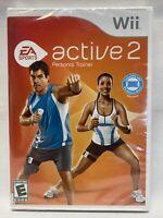 EA Sports Active 2 (Nintendo Wii, 2010) Software