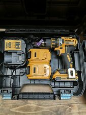 DeWalt DCD790m2 Brushless with charger and 3 batteries in case