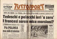 rivista TUTTOSPORT - 02/06/1978 N. 150 COPPA DEL MONDO FRANCIA ITALIA