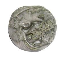 PENDANT/NECKLACE For Wirewrap? Carved Or Molded FLYING DRAGON P351