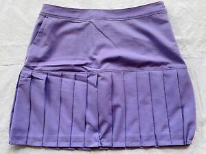 Women's skort IZOD size 8 shorts under skirt purple $72 NEW (th28)