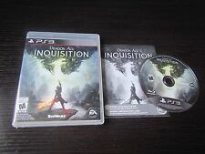 Playstion 3 PS3 Dragon Age: Inquisition complete in case & tested
