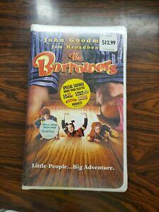 BRAND NEW The Borrowers VHS 1998 John Goodman Mark Williams Polygram Video NIP