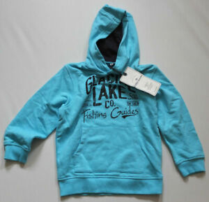 TOM TAILOR Hoodie Sweat Shirt Size 104 110 New Label Hoodie Blue