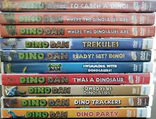 (10) DINO DAN Dinosaur DVD LOT MINT CONDITION AND NEW