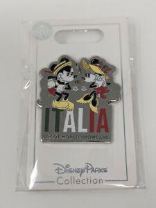 Mickey Minnie Mouse Italia Italy Pavilion Epcot World Showcase Disney Pin 2021