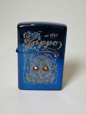"""Zippo  """"SKULL AND ROSES"""" -  NEU & ovp - #879"""