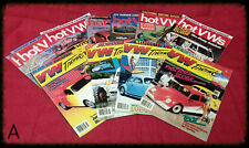Lot 11 Vintage 1986 1987 VW Trends Hot VWs Magazine Volkswagen Bug Dune Buggy