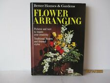 FLOWER ARRANGING/FLORAL  BY BETTER HOMES & GARDENS - EXCELLENT - FREE SHIPPING