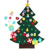 3FT Felt Christmas Tree Set with Ornaments Xmas Door Wall Hanging Decoration