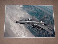 F15 STRIKE EAGLE MILITARY JET FIGHTER POSTER 24x36 HI RES