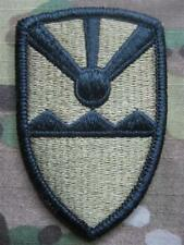 U.S. ARMY ricamate Velcro Patch Virgin Islands National Guard Multicam OCP
