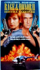 Rage and Honor II: Hostile Takeover (VHS, 1994) Cynthia Rothrock, Richard Norton