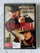 3 : 10 TO YUMA -  DVD, REGION-4, LIKE NEW, FREE POST WITHIN AUSTRALIA